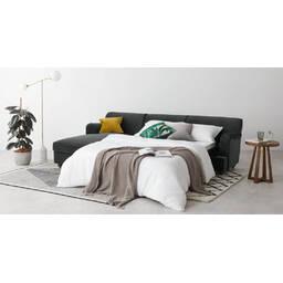 Диван со спальным местом Orson, угловой, серый