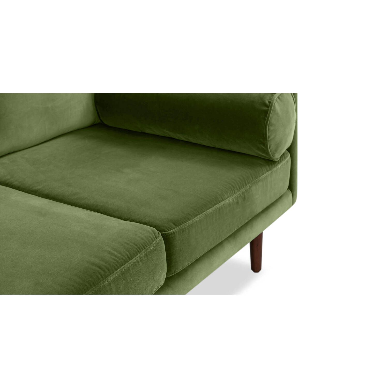Дизайнерский зеленый диван Spectre в стиле Модерн