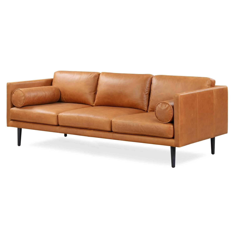 Дизайнерский оранжевый диван Spectre в стиле Модерн