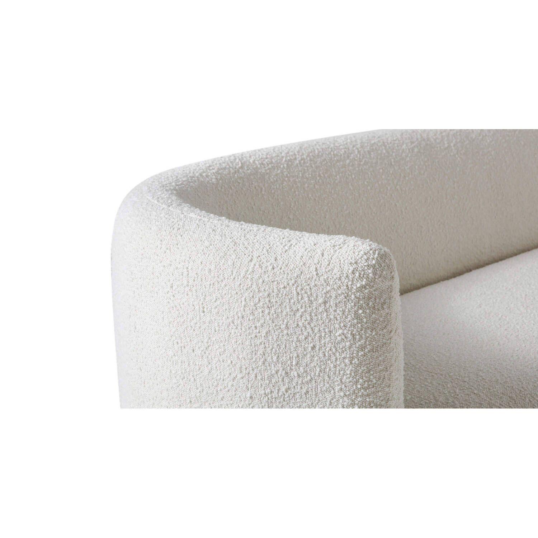 Прямой белый диван Swagger