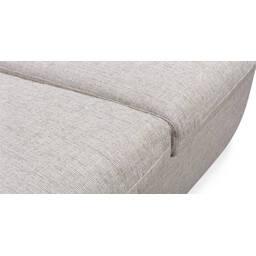 Прямой серый диван Vogue