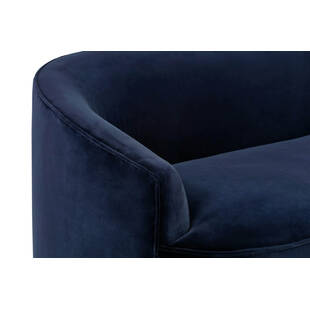Диван Yasmin, прямой, синий