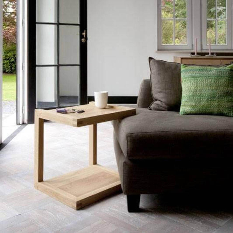 Кофейный столик Модель Oak frame side table,  в скандинавском стиле