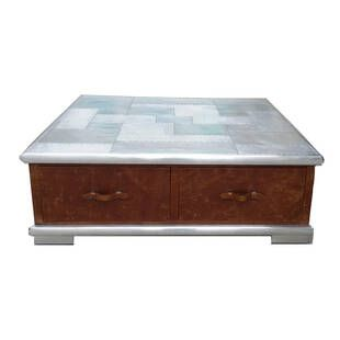 Стол Aviator Aluminum Top Coffee Table