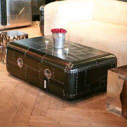 Дизайнерский стол в стиле Авиатор Blackhawk Coffee Table