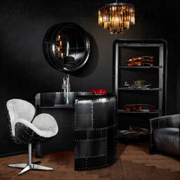 Стол Engine Cowling Table Black