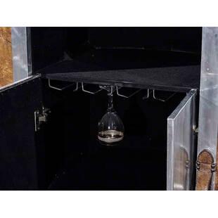 Стол Vintage Leather Aviator Bar Table