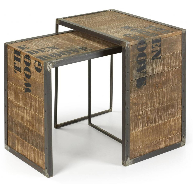 Угловой стол Kavehome в стиле Лофт
