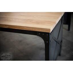 Угловой стол CUSTOM INDUSTRIAL L DESK в стиле Лофт