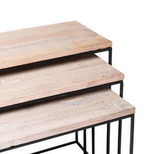 Столик-консоль Domino, набор из 3 штук.