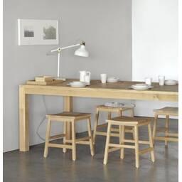Обеденный стол Oak Straight dining table 140  в современном стиле