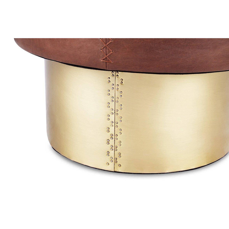 Кофейный стол Drum Coffee Table, коричневый