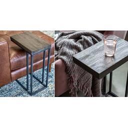 Прикроватный столик Tundra Side Table в стиле Loft