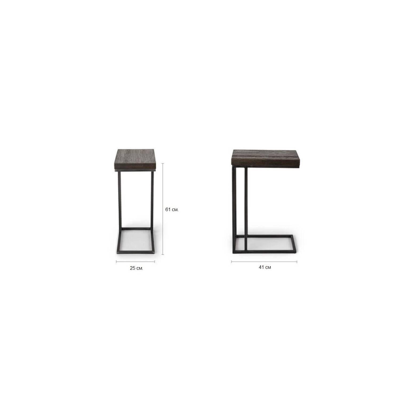 Прикроватный столик Tundra Side Table Dark