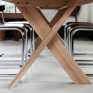 Обеденный стол X-legs