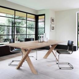 Обеденный стол X-legs  в современном стиле