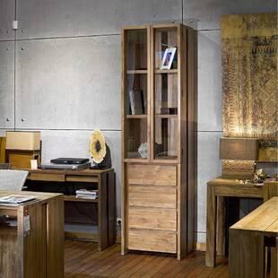 Шкаф посудный из массива дерева ценных пород Fiss 60