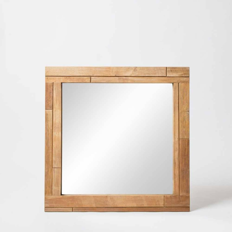 Зеркало из массива дерева ценных пород Benary SQ 90 купить