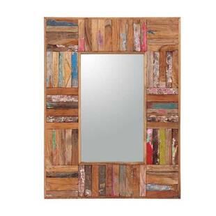 Зеркало из массива дерева ценных пород Ferum 80, рама 16