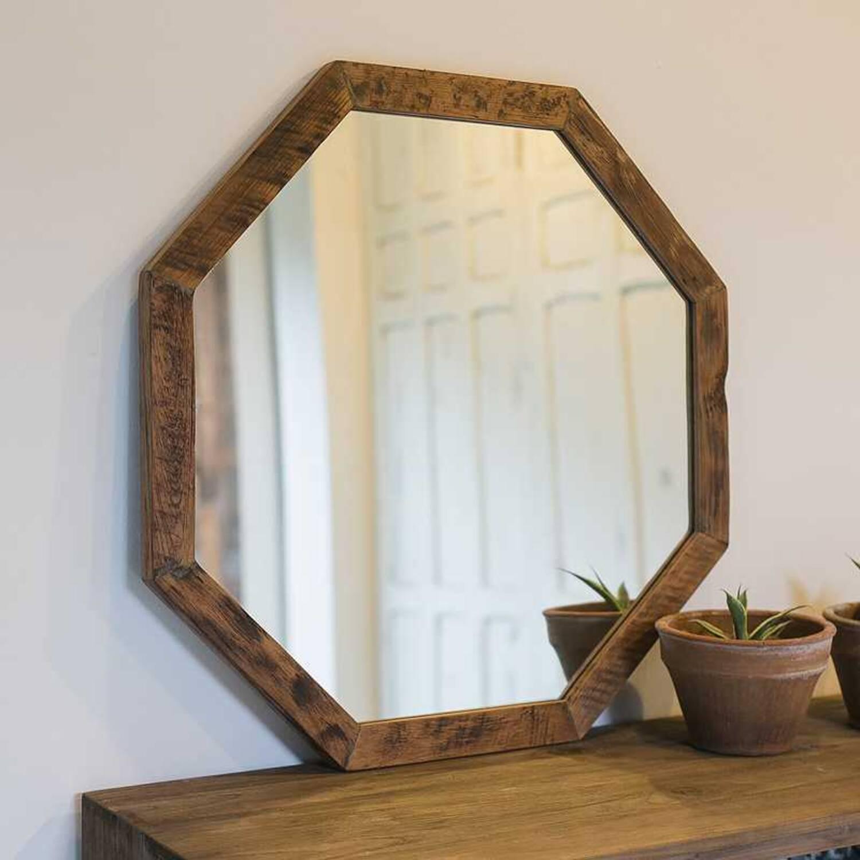 Зеркало из дерева ценных пород Soul 70