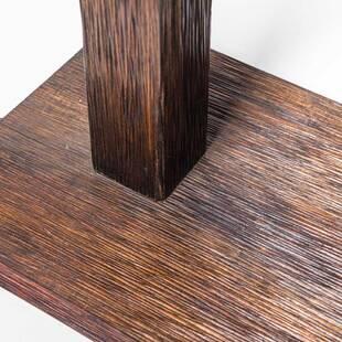 Торшер из массива дерева ценных пород Flores