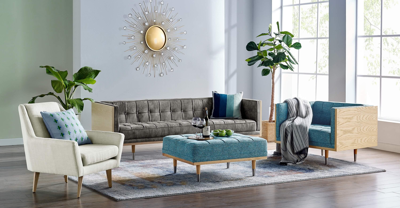 дизайнерское кресло в современном стиле Angle