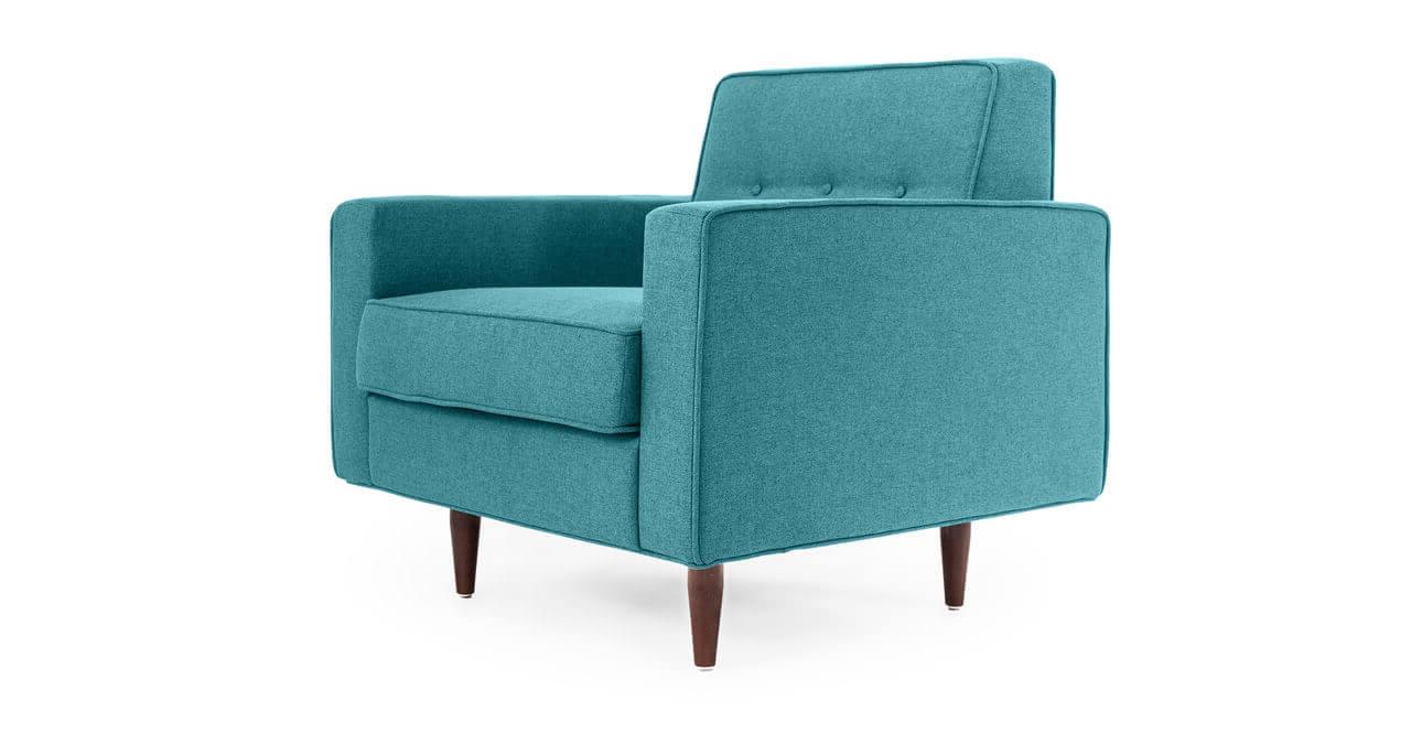 Бирюзовое кресло Eleanor