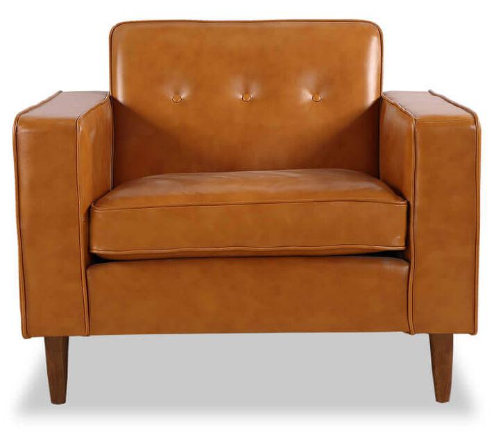 Кресло кожаное, в стиле Модерн