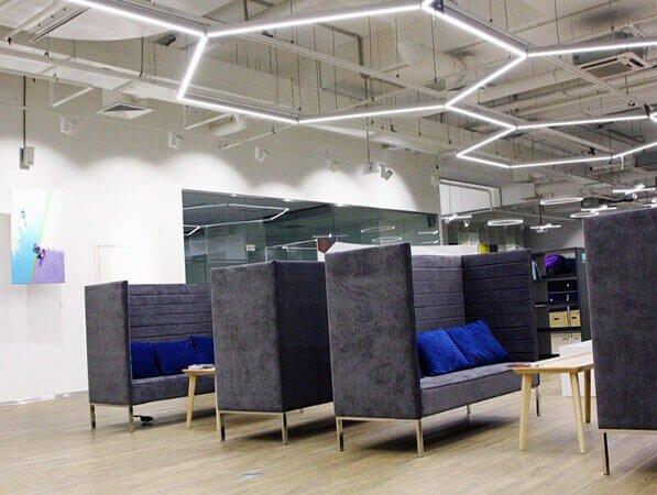 Дизайнерские диваны для офиса