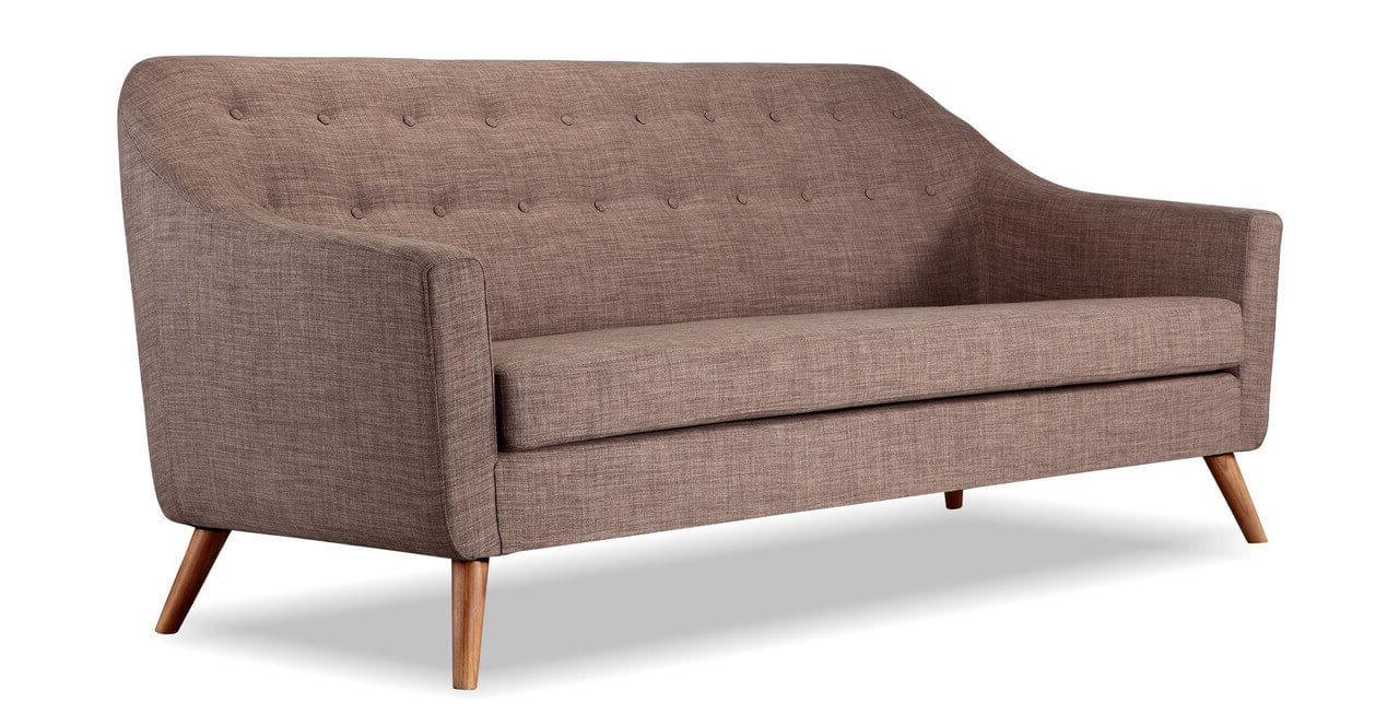 Прямой диван для маленькой комнаты