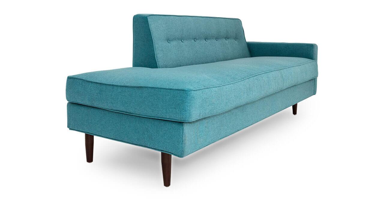 Бирюзовая мебель диван тахта Eleanor