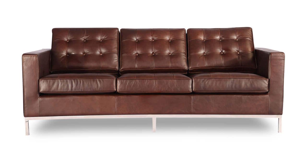 Кожаный диван - купить мебель в стиле Лофт