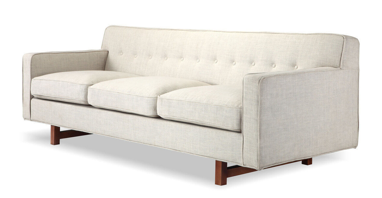 Диван, 190 см ширина, скандинавская мебель