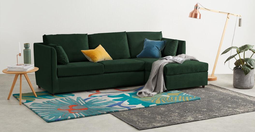 диван-кровать со спальным механизмом Milner